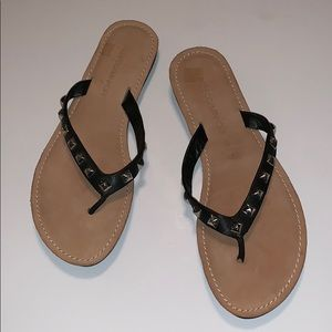 🆕 Rebecca Minkoff Leather Studded Thongs